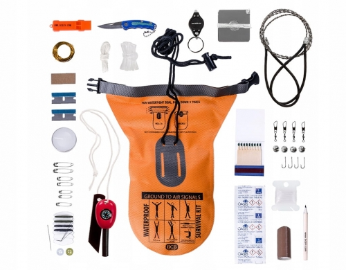 Zestaw Survivalowy BCB Waterproof Survival Kit